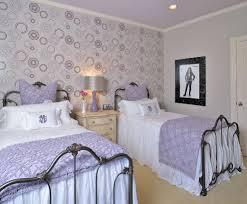 Purple Wallpaper Bedroom Pink Purple Damask Wallpaper Bedroom Contemporary With Light Pink