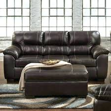 charming chocolate faux leather sofa weekends only furniture fake cover catchy couch repair kit bed ling