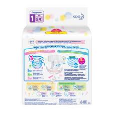 <b>Подгузники для</b> новорожденных <b>MERRIES NB</b>, 5 кг, 24 шт. купить ...