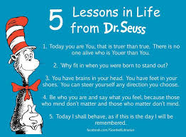 Quotes About Overcoming Adversity Classy Lessons In Life From Dr Seuss Beyond Adversity