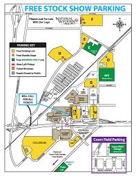 Denver Coliseum Seating Chart Rodeo Parking Maps National Western Stock Show And Rodeo