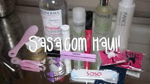 sasa haul makeup skincare