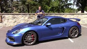 The Porsche Cayman GT4 Is One Of The Best Cars I\u0027ve Ever Driven - YouTube  M