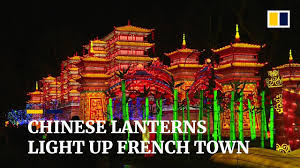 Chinese Light Festival Pomona Chinese Lantern Festival Lights Up French Town