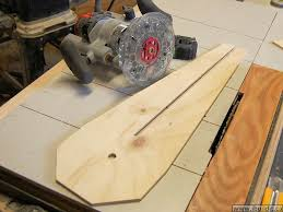 how to make a circle cutting jig for the router