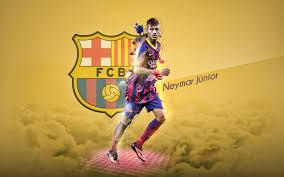 fcb neymar junior hd wallpaper