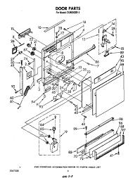 Door parts kitchenaid dishwasher wiring diagram