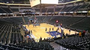 Bankers Life Fieldhouse Section 2 Indiana Pacers