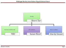 Association Organizational Chart Organizational Chart Mcknight Hockey Association