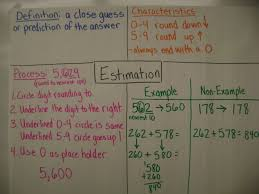 Anchor Chart Notebook Math Workshop Adventures Estimation Math Notebooks And