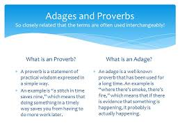 idioms adages and proverbs th grade ela common core aligned  6 adages