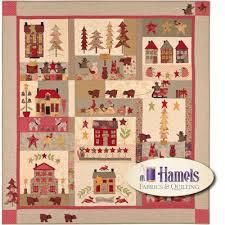 A Woodland Christmas Quilt Kit - Hamels Fabrics & Quilting & A Woodland Christmas Quilt Kit Adamdwight.com