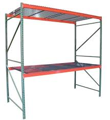jaken 48x18x72 2 shelf 2000 lb cap bulk wire rack shelving ks3m 4818072
