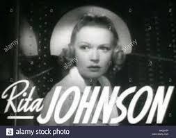 Rita Johnson 1939 Stock Photo - Alamy