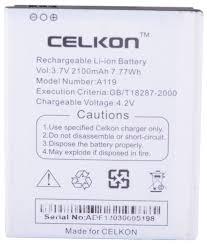 CELKON A20 1500 mAh Li-ion Battery for ...