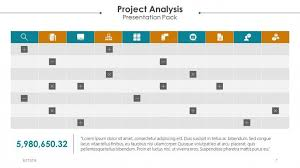 Project Powerpoint Project Analysis Free Powerpoint Template