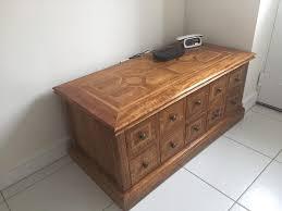 malabar 10 drawer trunk coffee table reduced