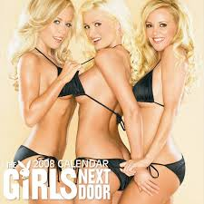 Girls next dooe naked calender