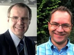 Der bisherige und der (vermutlich) neue: Roman Messmer (links) und Hanspeter Blaser. - 180779-8896_fdp
