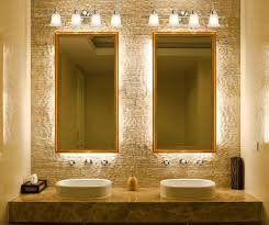 contemporary bathroom lighting fixtures. Light Fixtures For Bathrooms Most Popular Bathroom Lighting With Lamps Above Mirror Two Wash Basin Ceramic Table Contemporary