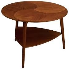 round teak coffee table round teak coffee table vintage danish round teak side table for