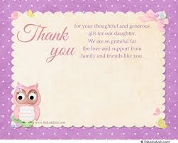 Butterfly Owl Thank You Cards  Matching Fresh Cute Pastel Polka DotsOwl Baby Shower Thank You Cards