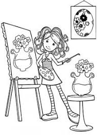 Small Picture Coloring Pages Impressive Paint Coloring Pages 14738 Palette And