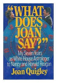 Nancy Reagan Astrology Chart What Does Joan Say My Seven Years As White House