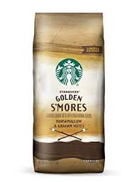 Toppings include more chocolate sauce, toasted marshmallow infused whipped cream and graham cracker crumbles. Starbucks Dropped Golden S Mores Ground Coffee At Grocery Stores So You Can Make S Mores Frapps At Home All Summer Long Smores Light Roast Coffee Starbucks Flavors