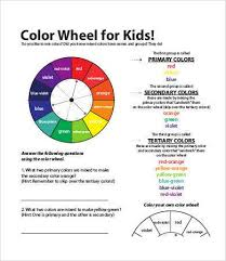 The color wheel shows the relationship between colors. Color Wheel Charts 6 Free Pdf Documents Download Free Premium Templates