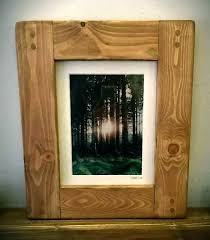 frames 18 x 24 poster frame wood 8 picture and photo chunky 18x24 with mat 13x19