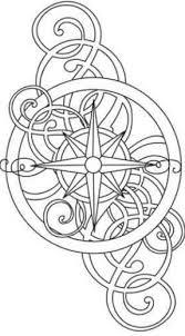 Disegno Per Tatuaggio Stella Polare O Rosa Dei Venti Idee Disegno