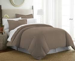 duvet cover modern bedding set couk white taupe