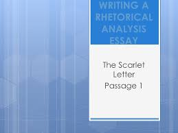writing a rhetorical analysis essay ppt video online  writing a rhetorical analysis essay