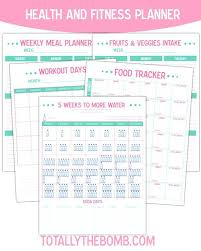 Health And Fitness Tracker Free Printable Workout Calendar 2018 ...