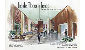 Interior Design School Interesting Inside Modern Texas The Case For Preserving Interiors Exhibit On
