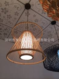 Us 1625 Supplying Chinese Bamboo Rattan Chandelier Antique Chandelier Chandelier Ikea Style Restaurant Balcony Den Chandelier ב Supplying Chinese