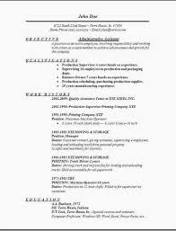 Administrative Assistant Objective Resume Examples Examples Of