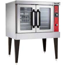 vulcan vc4ed 12d1 single deck full size electric convection oven 240v 3 phase