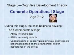 piaget essay cognitive development