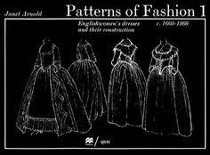 s including delivery for patterns of fashion englishwomen s dresses their construction c by janet arnold