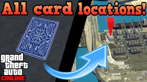 On Line Cards All Playing Card Locations Gta Online Guides