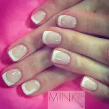 french manicure mink beauty boutique artistic gloss