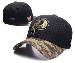 Men's Service New Salute Hat 39thirty Era Nfl Flex Graphite Washington Redskins To Sideline