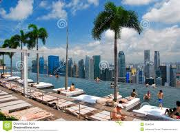 infinity pool singapore hotel. Download Infinity Pool, Marina Bay Hotel, Singapore Editorial Stock Image -  Of Palm Infinity Pool Singapore Hotel