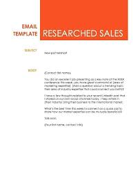 Researched Sales Email Annual Training Report Sample – Akronteach.info