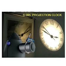 led og projection clock with based