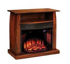 american made shaker 38 electric fireplace tv stand cozy and warm we love shaker