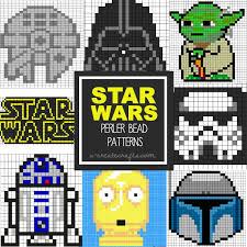 Bead Patterns Best Star Wars Perler Bead Patterns U Create