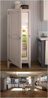 refrigerator that looks like a cabinet. Brilliant That A Cabinet Style Fridge That Looks Like A Piece Of Furniture On Refrigerator K